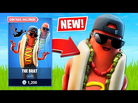 New Hotdog Skin & Squad Arena! (Fortnite Battle Royale) - UC2wKfjlioOCLP4xQMOWNcgg