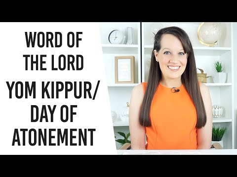 Prophetic Word for Yom Kippur/ Day of Atonement