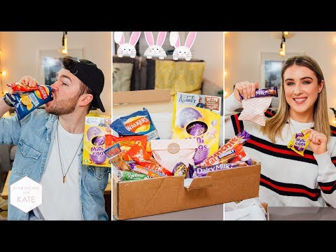 Trying British Easter Candy & Exciting Announcement!! - In The Kitchen With Kate - UC_b26zavaEoT1ZPkdeuHEQg