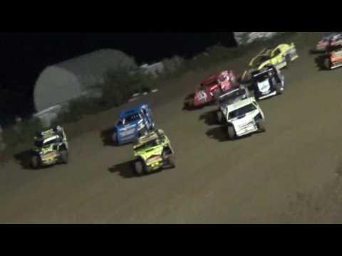 IMCA Sportmod Feature Marshalltown Speedway 9/16/16 - dirt track racing video image