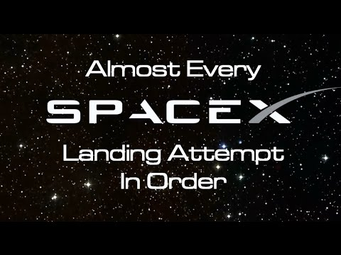 (Almost) Every SpaceX Landing, In Order - UCrdWI4yRCXY9F-NRS0oQgyw