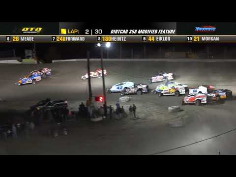 Thunder Mountain Speedway   DIRTcar 358-Modified Highlights   9/4/21 - dirt track racing video image