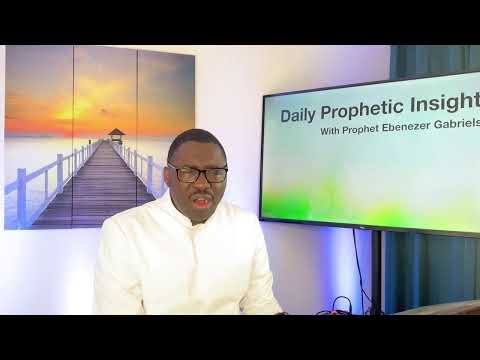 Prophetic Insight March  10th, 2021