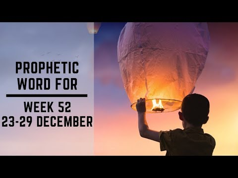 Word for this Week 23 December 2019