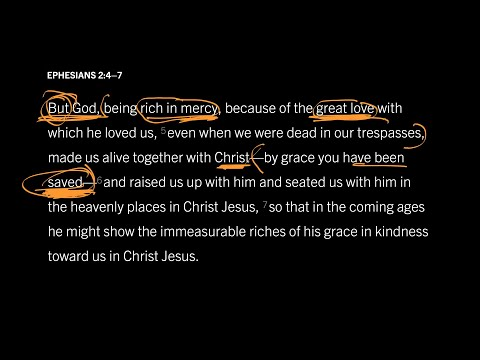 Ephesians 2:47 // Part 1 // Does God Save Us from God?