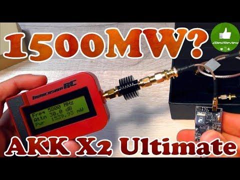 ✔ Самый мощный компактный передатчик - AKK X2 Ultimate 1.2W! Akktek.com - UClNIy0huKTliO9scb3s6YhQ