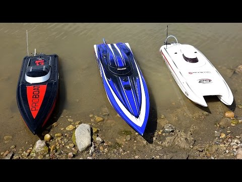 RC ADVENTURES - 3 Speed Boats & Full Scale Recovery - Impulse 31, Spartan, Mystic 29 - UCxcjVHL-2o3D6Q9esu05a1Q