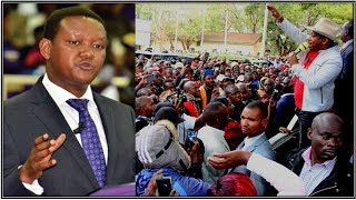Mike Sonko does a Tit for Tat to Dr. Alfred Mutua regarding their county chaos
