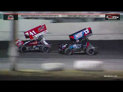 NARC KING OF THE WEST @ PETALUMA SPEEDWAY - AUGUST 29, 2021 - dirt track racing video image