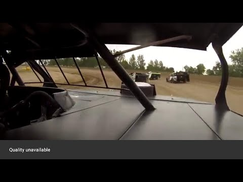 Talan Thoennes Racing.  Viking Speedway.  6/26/21.  Modifieds. - dirt track racing video image