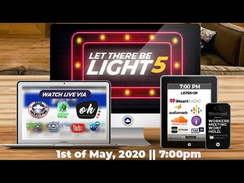 RCCG MAY 2020 HOLY GHOST SERVICE - LET THERE BE LIGHT 5