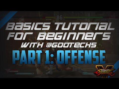 Street Fighter V 101: Basics Tutorial for Beginners with @gootecks - Part I: Offense (Ryu) - UCTDdH72PnLY1V_ERklKSXMg