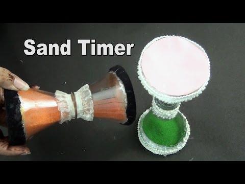 DIY Sand Timer using Plastic Bottle  | Best Out Of Waste | JK Arts 965 - default