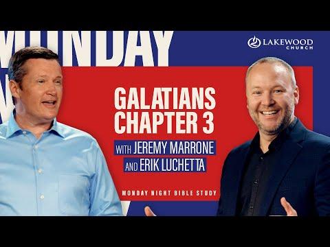 Galatians 3  Pastors Jeremy Marrone & Erik Luchetta  Bible Study 2021