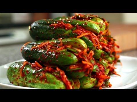 Cucumber kimchi (Oi-sobagi: 오이소박이) - UC8gFadPgK2r1ndqLI04Xvvw