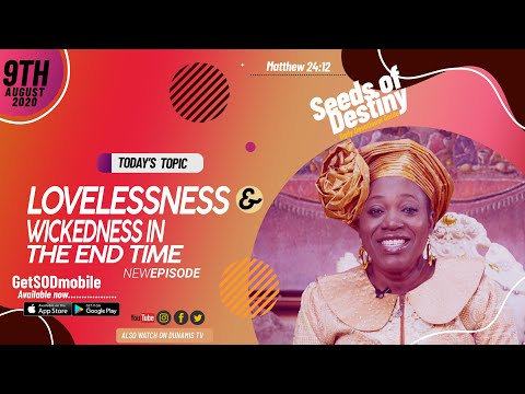 Dr Becky Paul-Enenche - SEEDS OF DESTINY - SUNDAY AUGUST 9, 2020