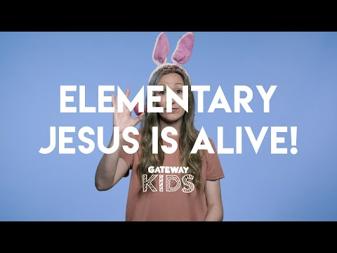 Elementary Easter Lesson  Apr 11-12
