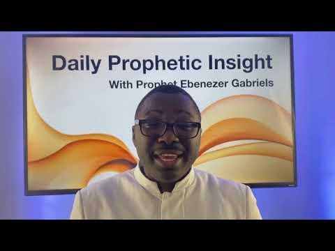 PROPHETIC INSIGHT Dec 15th, 2020