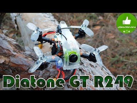 ✔ FPV Микро Квадрокоптер Diatone 2019 GT R249 95mm - Полный Обзор! - UClNIy0huKTliO9scb3s6YhQ