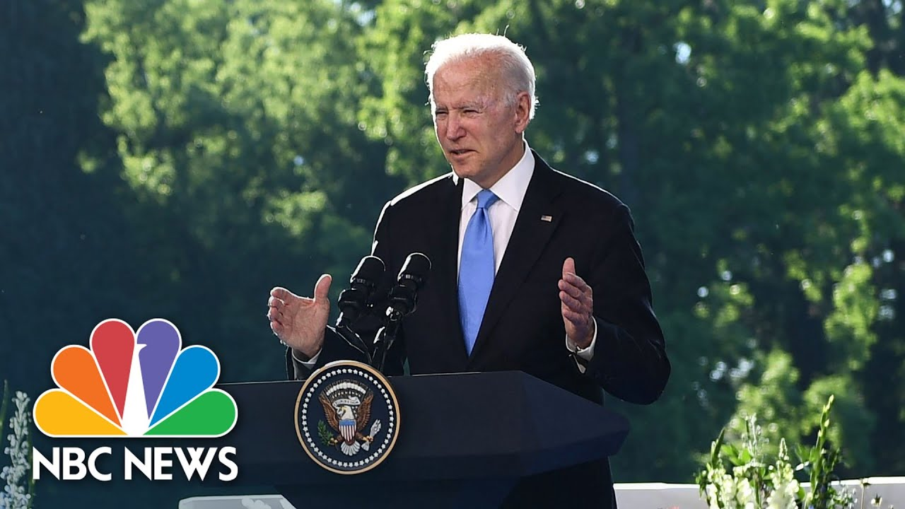 Biden Discusses Meeting With Putin: 'My Agenda Is Not Against Russia'