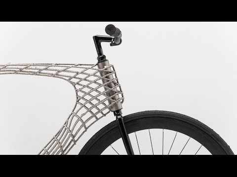 Arc Bicycle has 3D-printed steel frame created by TU Delft and MX3D - UCsWG9ANbrmgR0z-eFk_A3YQ