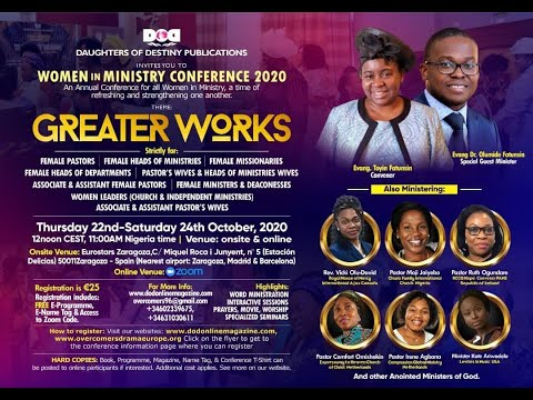 Women in Ministry Conference