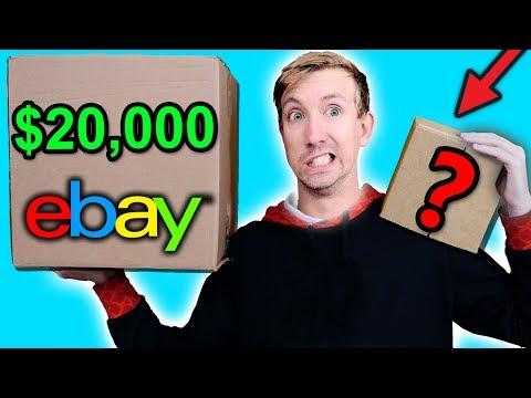 $10 VS $20,000 EBAY MYSTERY BOX Challenge Unboxing Haul! (Penny worth more than Bitcoin?!) - UCwaNuezahYT3BOjfXsne2mg