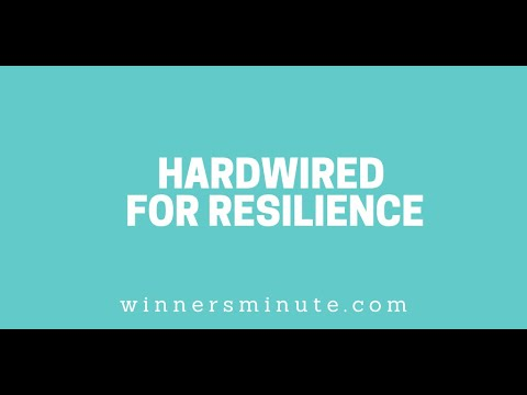 Hardwired for Resilience // The Winner's Minute With Mac Hammond
