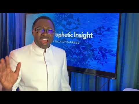 Prophetic Insight into the Day April 24, 202 with Prophet Gabriels at LightHill Church