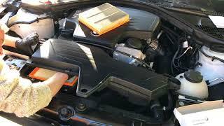Cambiare filtro aria motore Bmw Serie 3 (F30) da 2012