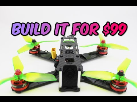 How to build a Pro FPV Racing DRONE for ONLY $99 Full Build guide + Giveaway - UC3ioIOr3tH6Yz8qzr418R-g