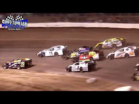 Sweetwater Speedway IMCA Northern SportMod Main Event 7/4/21 - dirt track racing video image
