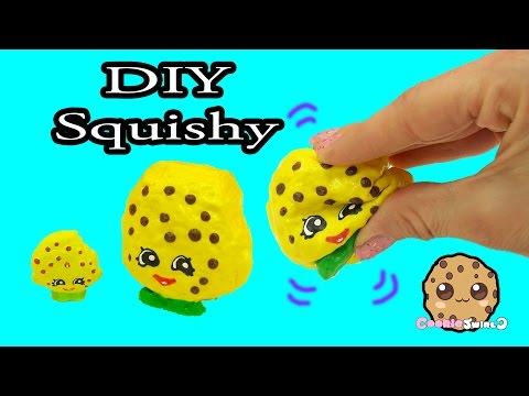 DIY Squishy Shopkins Season 1 Kooky Cookie Inspired Craft Do It Yourself - CookieSwirlC Video - UCelMeixAOTs2OQAAi9wU8-g