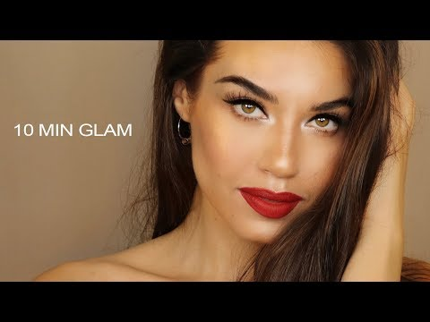 10 MINUTE GLAM MAKEUP | Easy and Affordable Glam Makeup | MAKEUP IN A RUSH - UCaZZh0mI6NoGTlmeI6dbP7Q