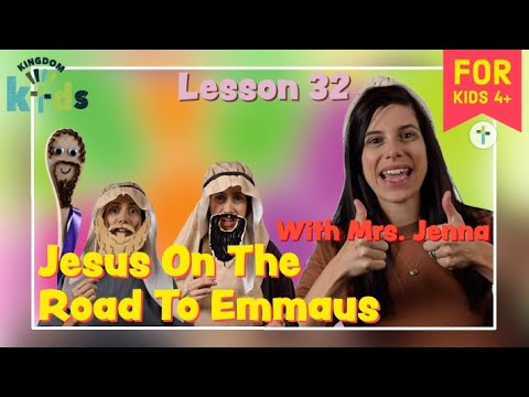 Jesus On The Road To Emmaus  Sojourn Kingdom Kid's  Sunday Morning Lesson  Sojourn Church