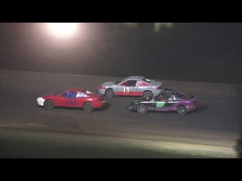 Flinn Stock A-Feature at Crystal Motor Speedway, Michigan on 07-03-2021!! - dirt track racing video image