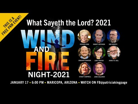 Wind and Fire // What Saith The Lord? // Patricia King