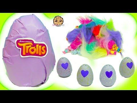 Hatchimals Hatching Surprise Blind Bag Baby Eggs + Dreamworks Trolls Egg - UCelMeixAOTs2OQAAi9wU8-g