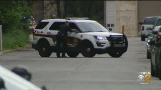 Man Trying To Elude Police Falls Two Stories Into An Alley