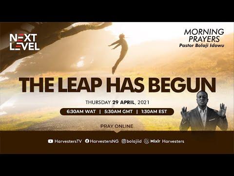 Next Level Prayer  The Leap Has Begun Pst Bolaji Idowu  29th April 2021