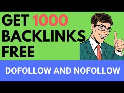 Backlink Generator Tool: Get 1000 Backlinks Free |Do-follow and No-follow| - UCgRxt7pBcfOaJUNYkXbnHNA