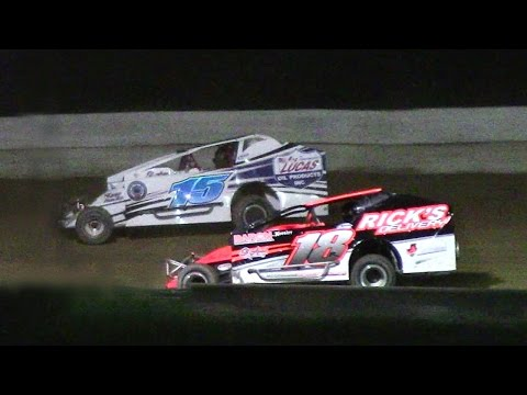 Sportsman Feature | Freedom Motorsports Park | 5-19-17 - dirt track racing video image