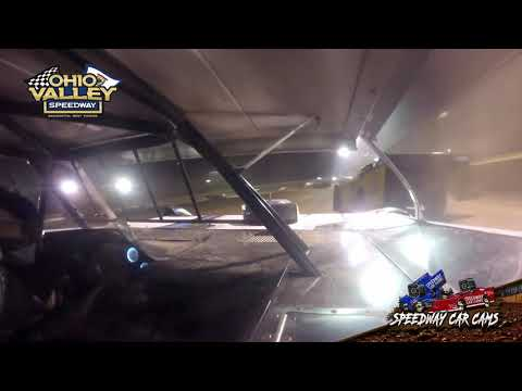 #41 Doug Parks - Ohio Valley Speedway 4-23-21 - Super Late Model - In-Car Camera - dirt track racing video image