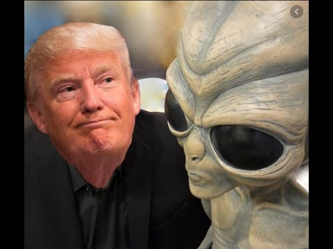 Breaking: Trump Surprised By Roswell Aliens