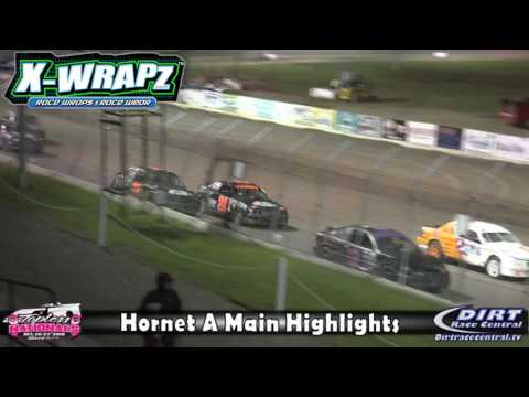 Ogilvie Raceway 10/21/16 Hornet Highlights - dirt track racing video image