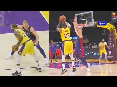 LeBron James Gets Sick Of Pistons Then Sends Them Home! Stephen Curry Goes Crazy vs Mavericks