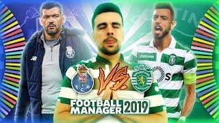 PARECE MESMO A REALIDADE PQP!! | SPORTING CP 2.0 | FOOTBALL MANAGER 2019 #6