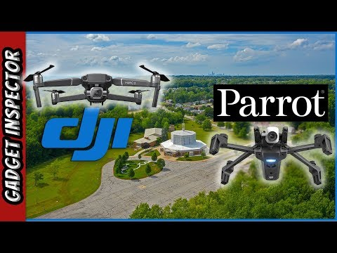 DJI Mavic 2 Pro and Parrot ANAFI Flying in CLEVELAND - UCMFvn0Rcm5H7B2SGnt5biQw