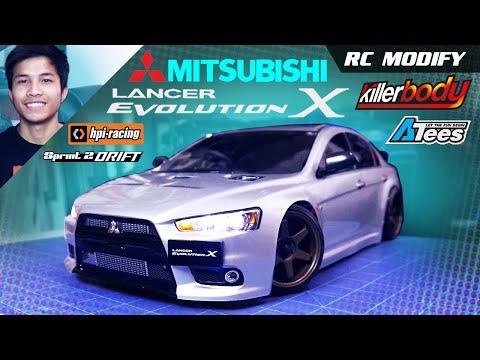 RC Modify 18 Part 1 | Mitsubishi EVO X [English] - default