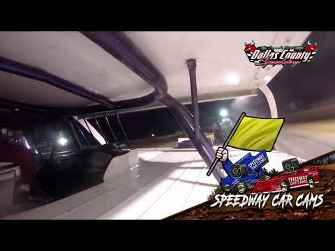#41 Paul Scott - Midwest Mod - 8-20-2021 Dallas County Speedway - In Car Camera - dirt track racing video image